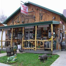 Fishing and Business in Prairie du Chien, Wisconsin